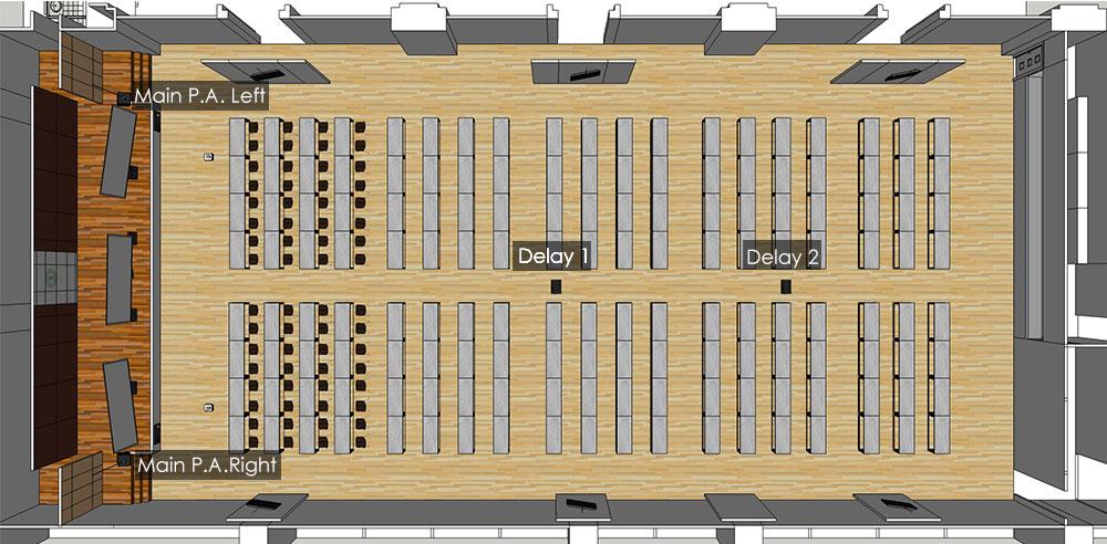 เครื่องเสียงห้องประชุมขนาดใหญ่_3d_plan